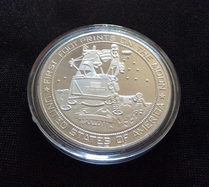 apollo 11 moon landing commemorative coin - photo #42