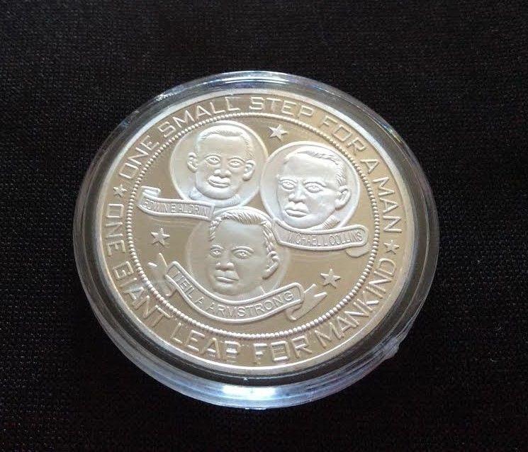 apollo 11 moon landing commemorative coin - photo #45
