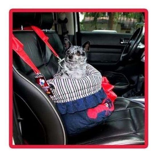 Petflys Snuggle Bugs Pet Bed Bag Car Seat 3 In 1 Rock