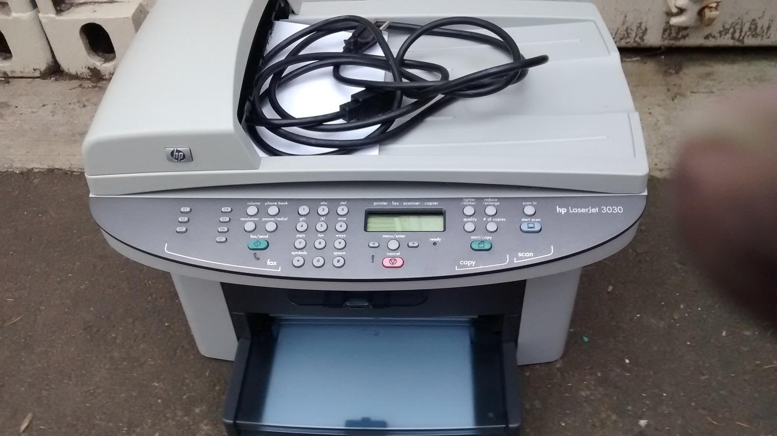 hp laserjet 3030 all in one printer fax scanner copier q2666a printers. Black Bedroom Furniture Sets. Home Design Ideas