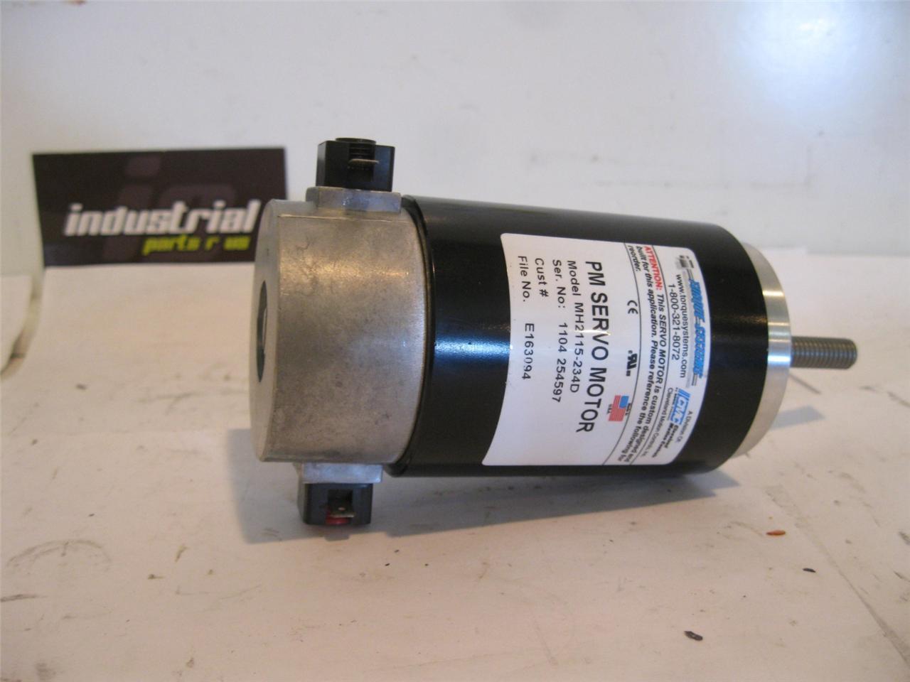 Cmc torque systems mh2115 234d pm servo motor motors for for Bent creek motors inventory