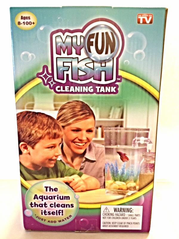 New my fun fish self cleaning tank kid 39 s betta aquarium for As seen on tv fish tank
