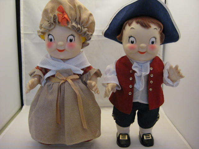 Vintage Campbell Soup Kids Bicentennial Couple 1976