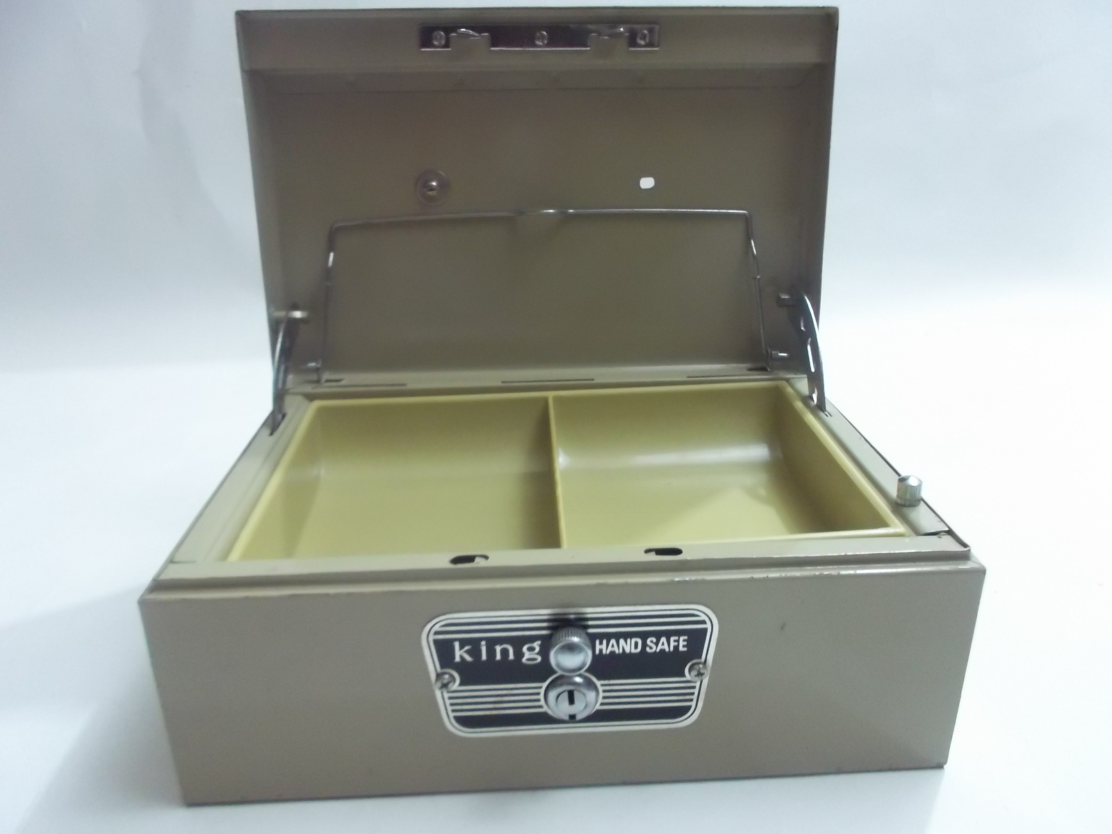 Fireproof Steel Security Safe Lock Box. Fire Chest Storage Key Case ...