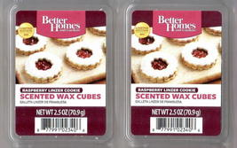 Raspberry Linzer Cookie Better Homes and Gardens Scented Wax Cubes x 2 ...