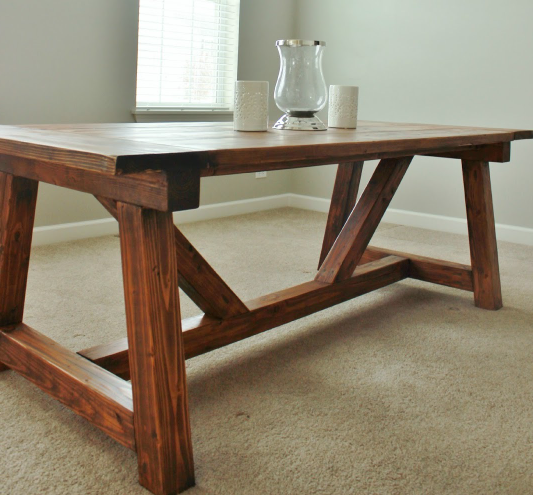 Used Farmhouse Table Oval for sale