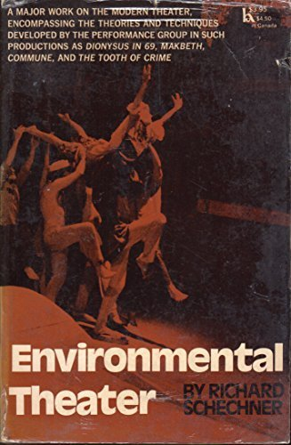 a look at richard schechners ideas of the new theater The inital idea through performance, including descriptions  it looks at them  from three per-  richard schechner, environmental theatre (new york.
