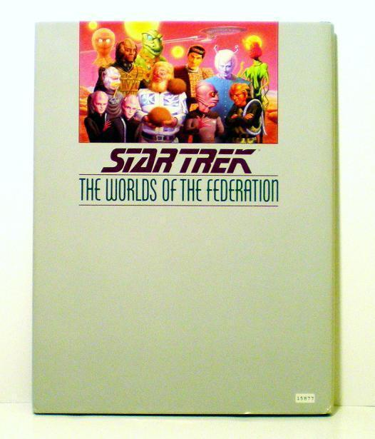 Image 1 of The Worlds of the Federation Star Trek Shane Johnson HB 1989