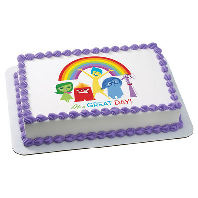 Licensed Edible Cake Images : INSIDE OUT Edible Cake Topper Licensed by Decopac #5476 ...