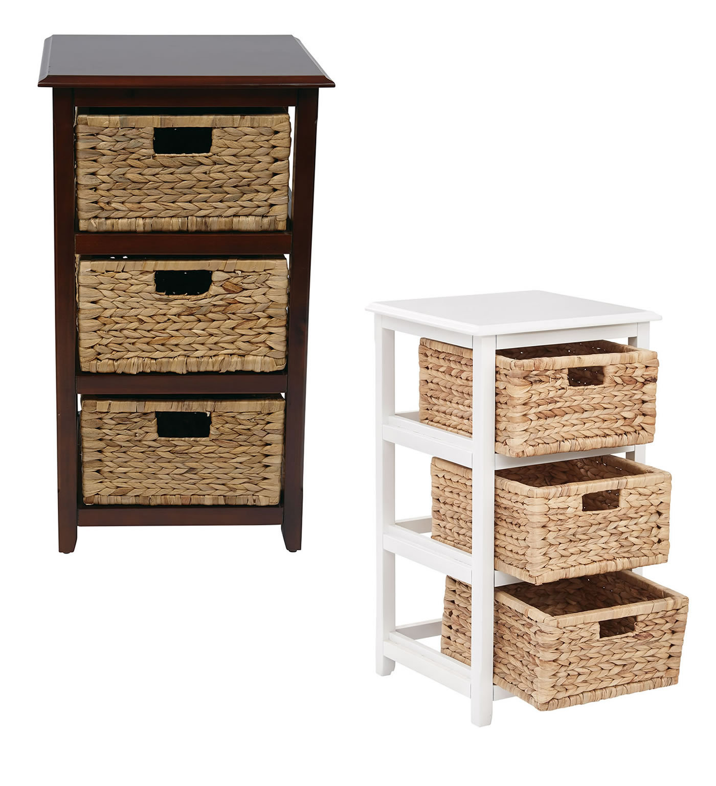 Amazing photo of  Wood Storage Tower w/Baskets Bedrm Side Table Storage Bins & Baskets with #936738 color and 1400x1538 pixels
