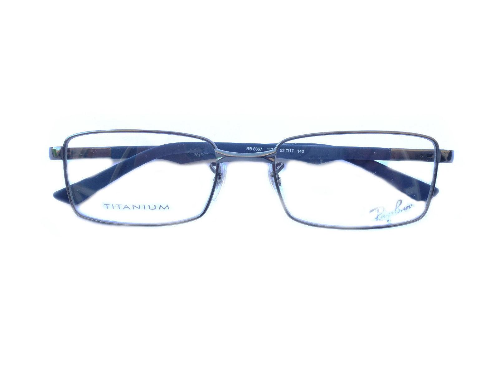 Eyeglass Frame Models : Ray-ban eyeglasses frame Model RB8667 Gunmetal 100% ...