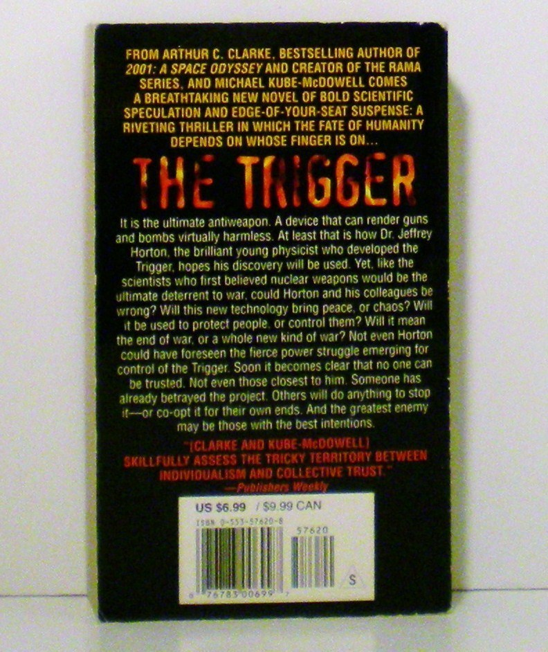 Image 1 of The Trigger by Arthur C. Clarke and Michael P. Kube-McDowell