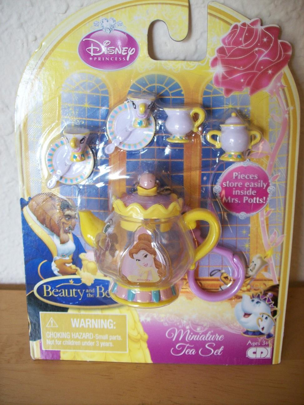 Disney Beauty And The Beast Miniature Tea Set Beauty
