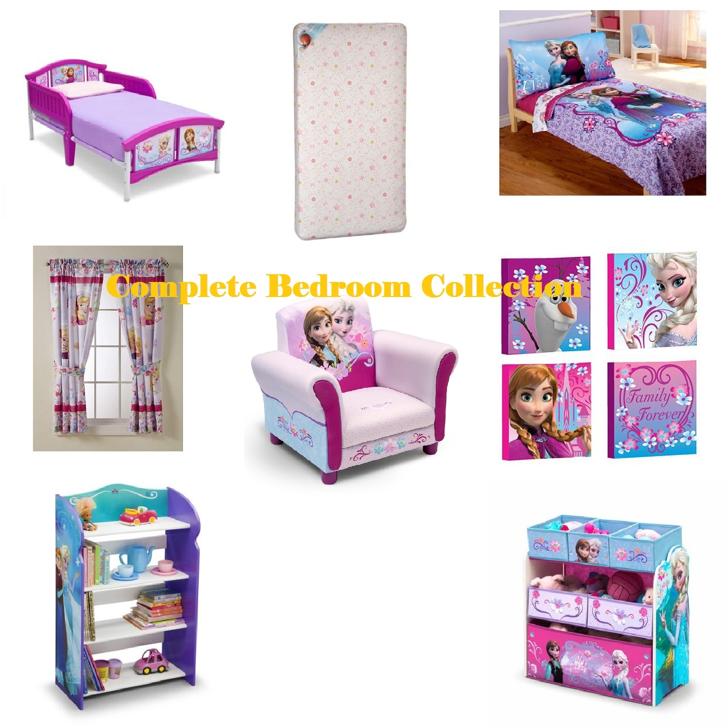 Toddler plete Bedroom Furniture and Bedding Collection