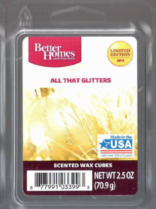 All that glitters better homes and gardens wax cubes - Better homes and gardens scented wax cubes ...