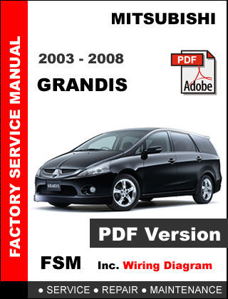 mitsubishi grandis 2008 service manual car interior design 2002 Mitsubishi Chariot Grandis 2001 Mitsubishi Chariot Grandis