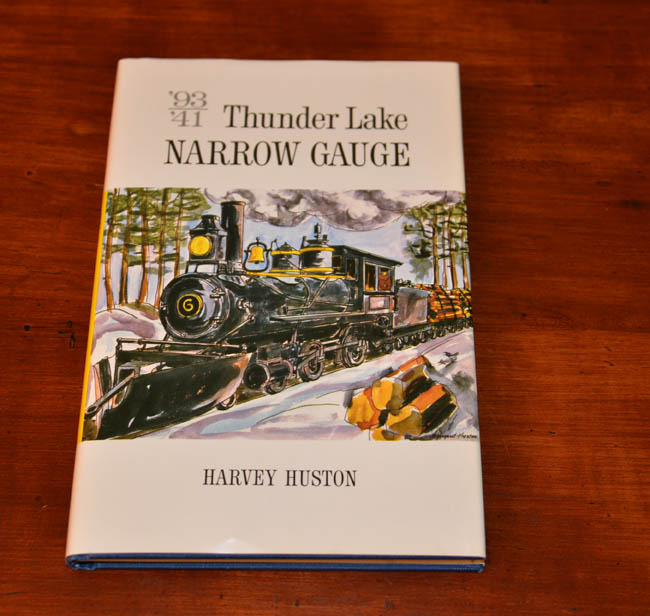 Thunder Lake Narrow Gauge, Wis. logging railroad book, 2nd ed