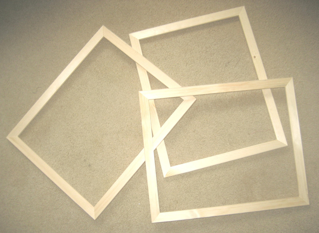 Cheap unfinished wood frames crafts for Unfinished wood frames for crafts