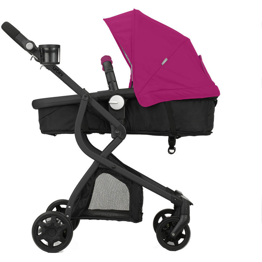 Travel System Stroller With Convertible Car Seat