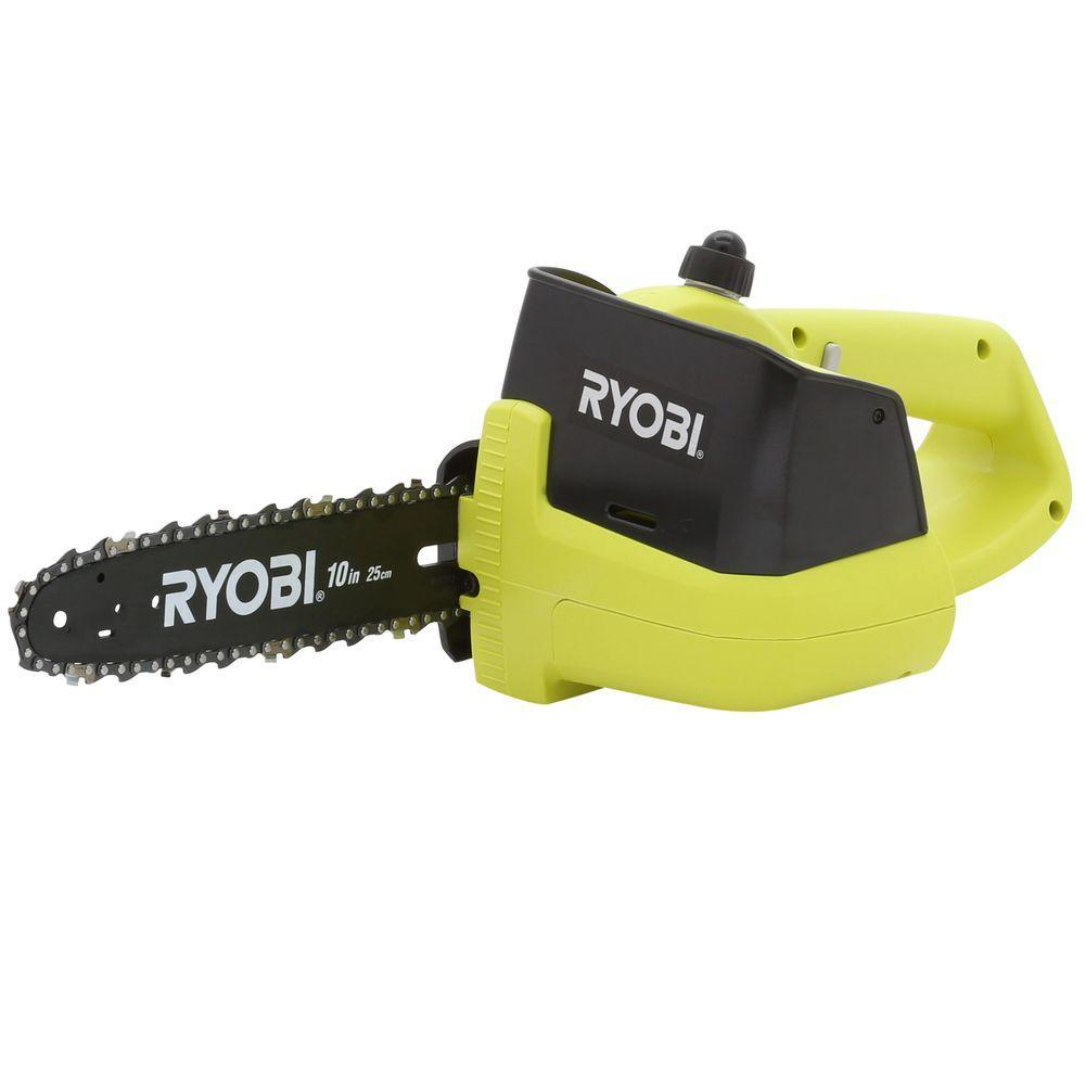 ryobi p545 18v cordless chainsaw tool only chainsaws. Black Bedroom Furniture Sets. Home Design Ideas
