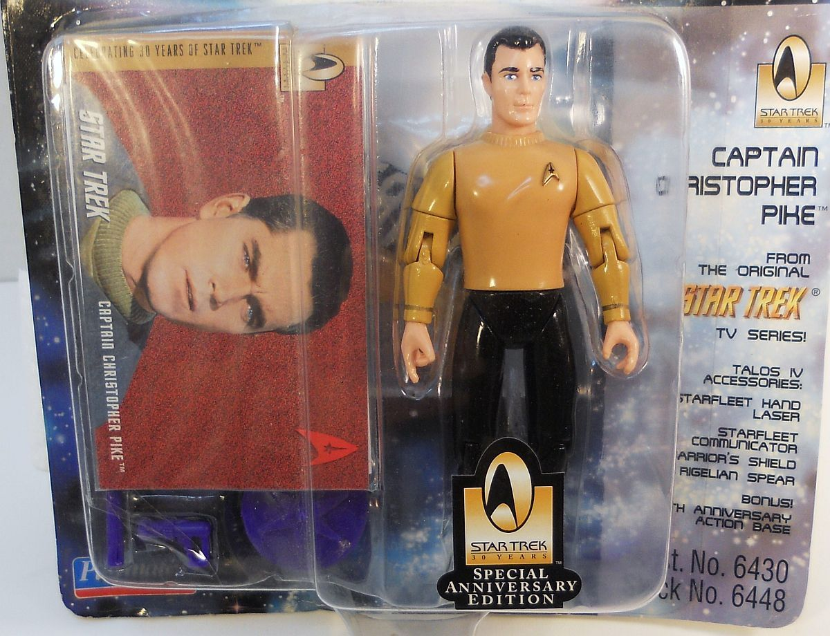 Star Trek The Original Series Capt. Christopher Pike 30th Anniversary