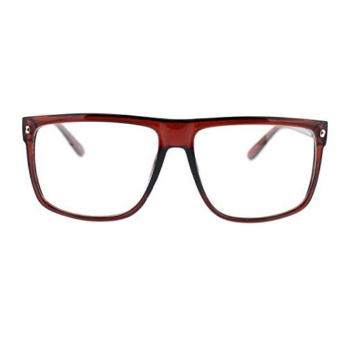 Big Plastic Frame Glasses : 80s Normcore Nerdy Geek Large Thin Plastic Frame Eye ...