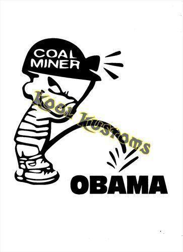 coal miner symbol vinyl decal sticker pickaxe shovel