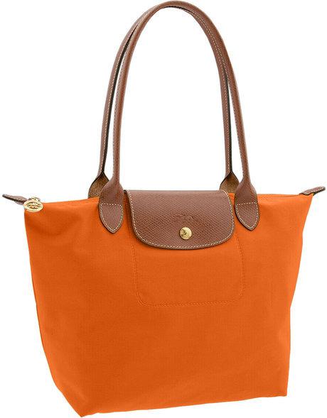 Longchamp Bag Le Pliage Size : New longchamp le pliage nylon tote orange shoulder bag