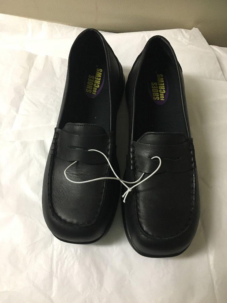 sfc shoes for crews steel toe black s shoes sz 9 5