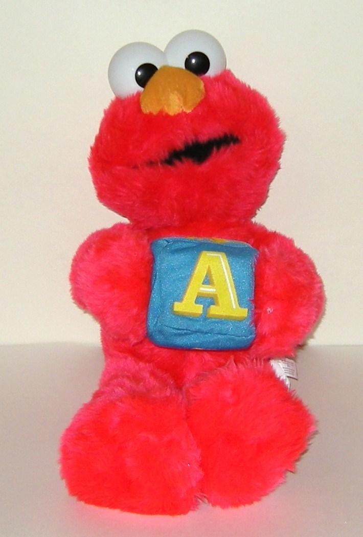 1 2 off nanco elmo alphabet block a sesame street plush for Elmo abc