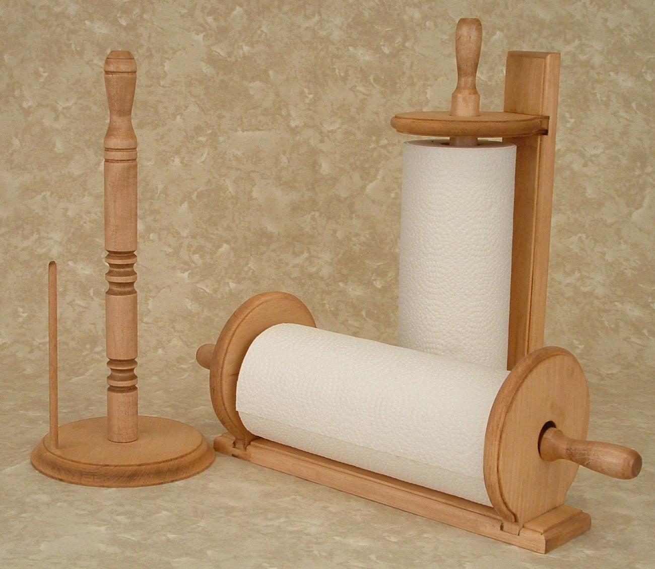 Spice Rack - Paper Towel Holder - Shelf - Racks & Holders