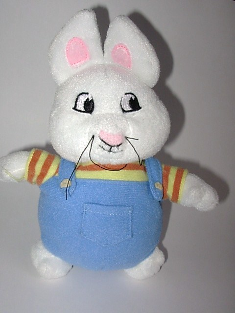 Max Bunny from Max and Ruby Plush Stuffed Animal Doll