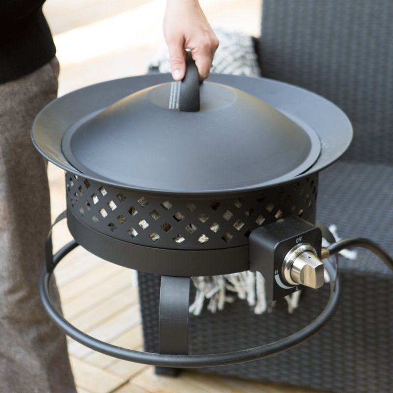 Propane Fire Pit Portable Home Outdoor Deck Patio Yard ...
