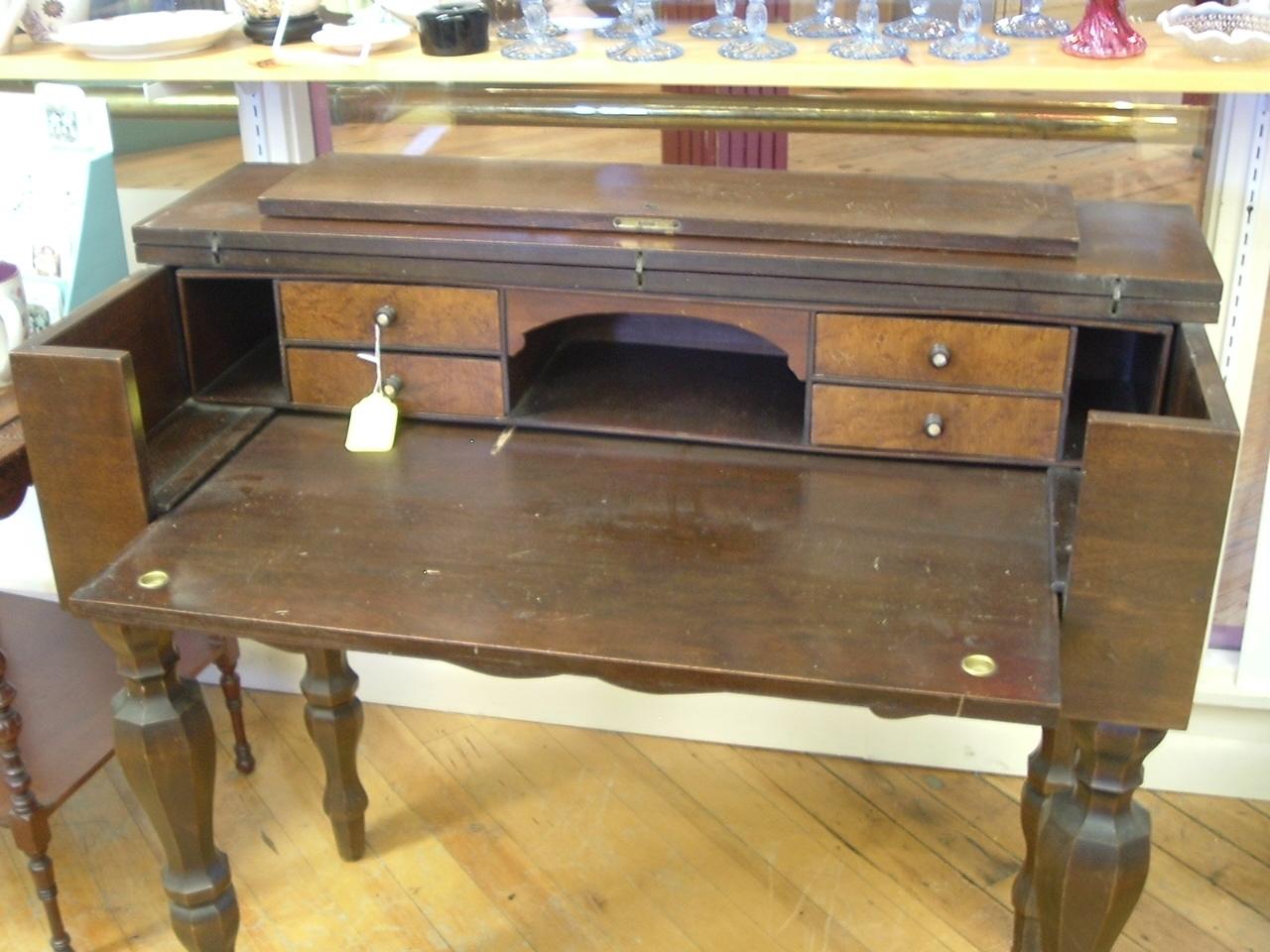 Antique Mahogany Spinet Desk - Spinet Desk - Lookup BeforeBuying - Antique  Spinet Desk Antique Furniture - Antique Spinet Desk Antique Furniture