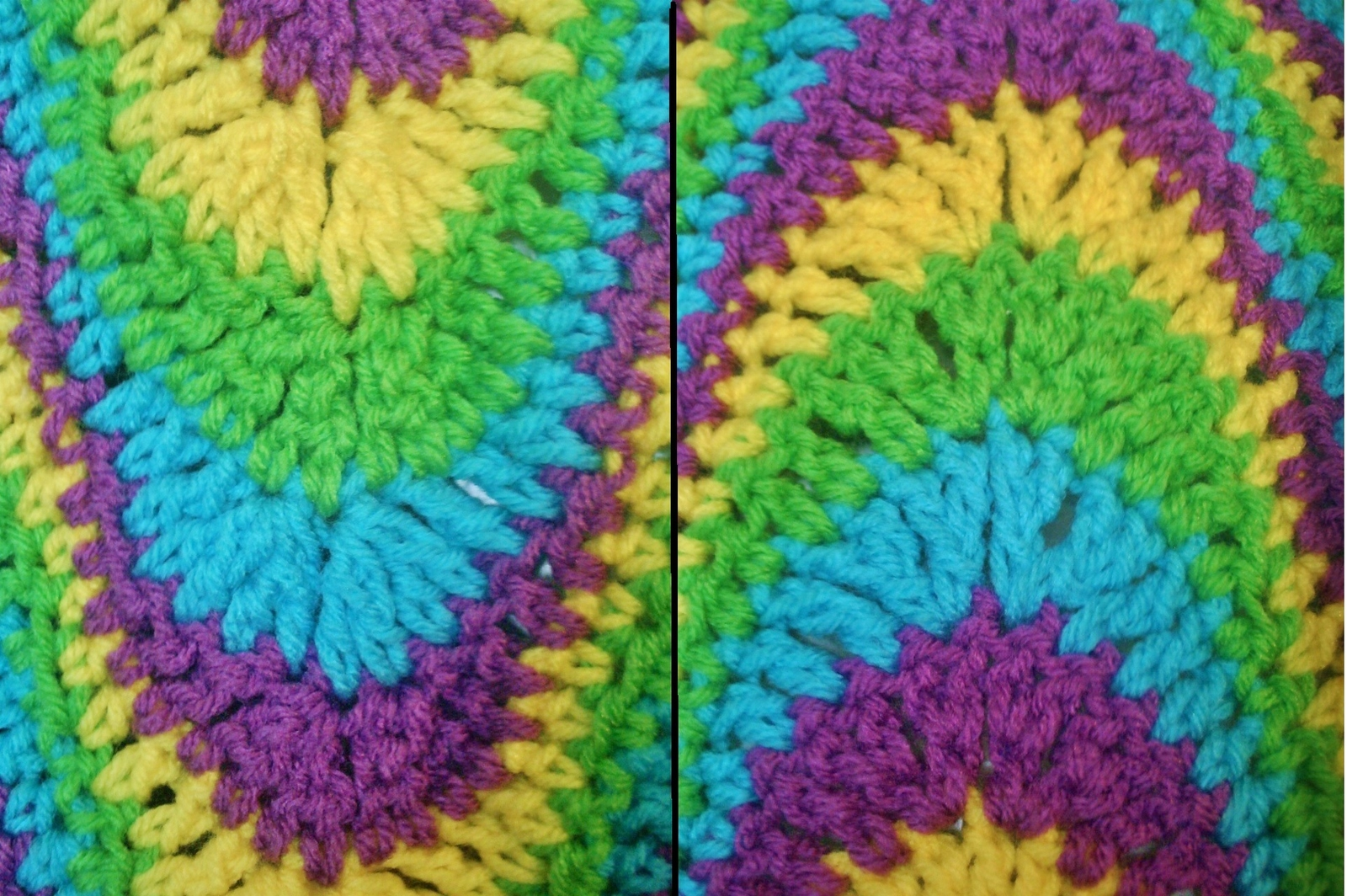 Three (3) Exaggerated Ripple Afghan Crochet and 50 similar items