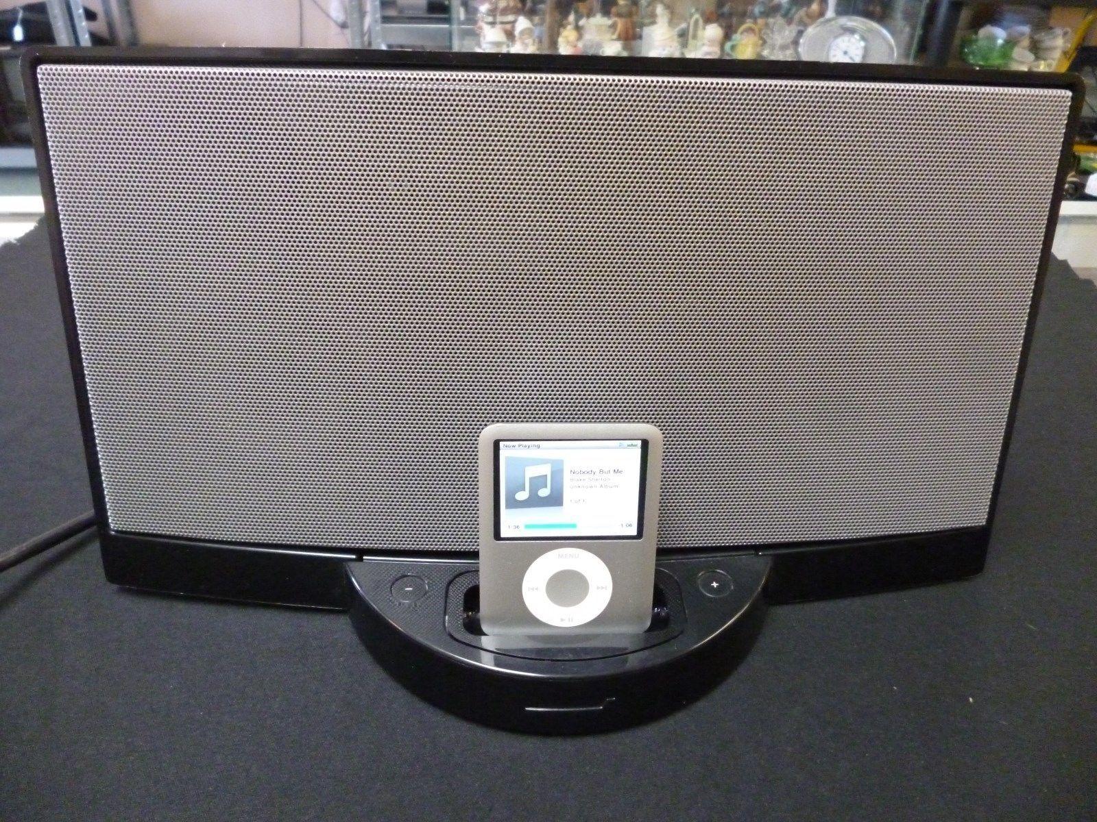 bose sound dock series 1 portable iphone ipod speaker system w 8gb ipod remote audio docks. Black Bedroom Furniture Sets. Home Design Ideas