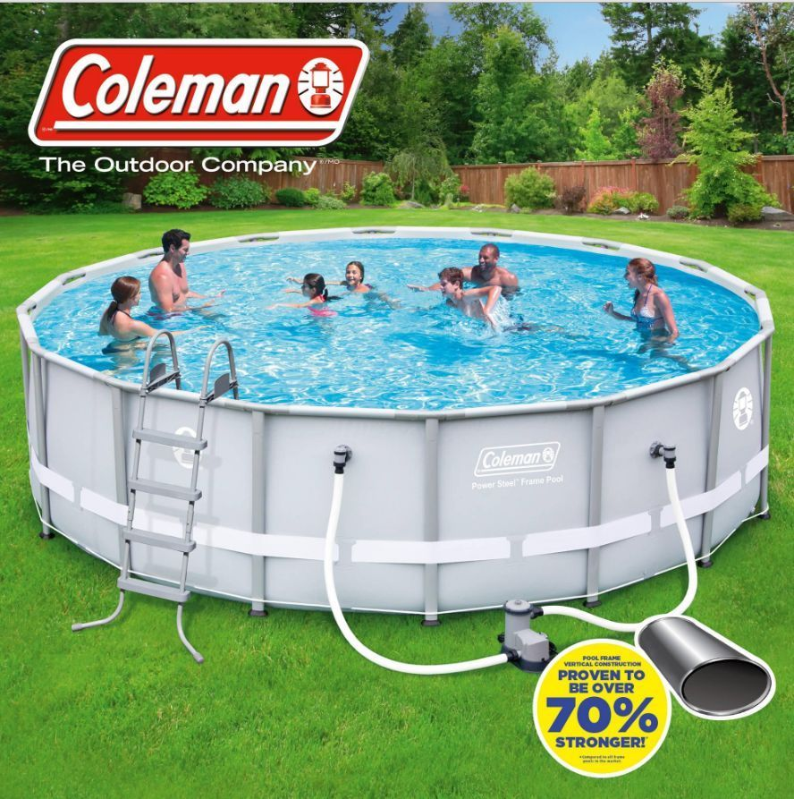 Coleman swimming pool 2 customer reviews and 2 listings for Consumer reviews above ground swimming pools