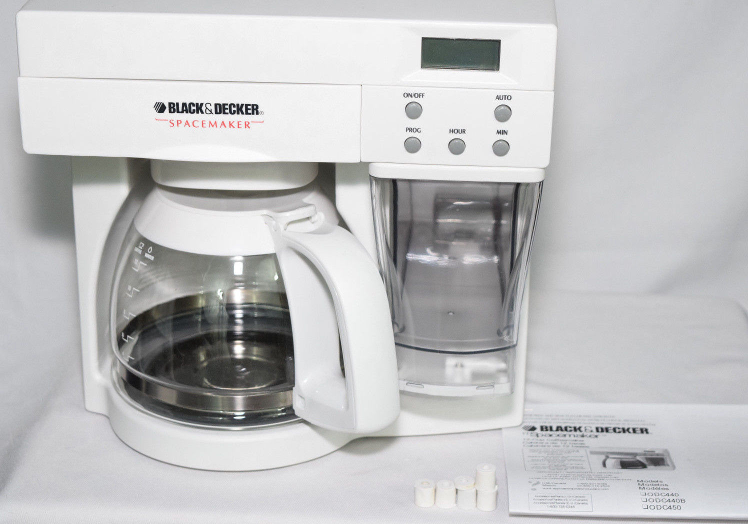 Black Decker Spacemaker 12 Cup Coffee Maker And 50 Similar