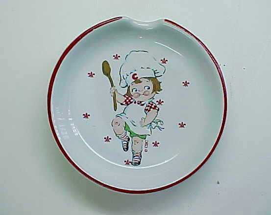 Cute 1990's Campbell's Soup Kid Spoon Rest