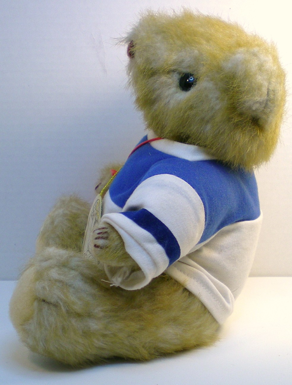 Image 1 of Gorham Teddy Bear of the Month Olympus Octobear 1984 for October