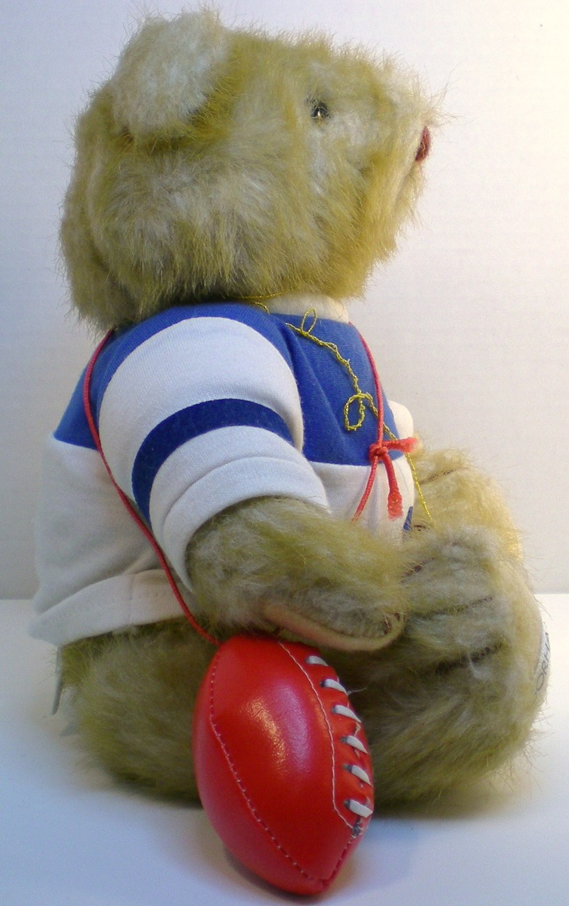 Image 3 of Gorham Teddy Bear of the Month Olympus Octobear 1984 for October