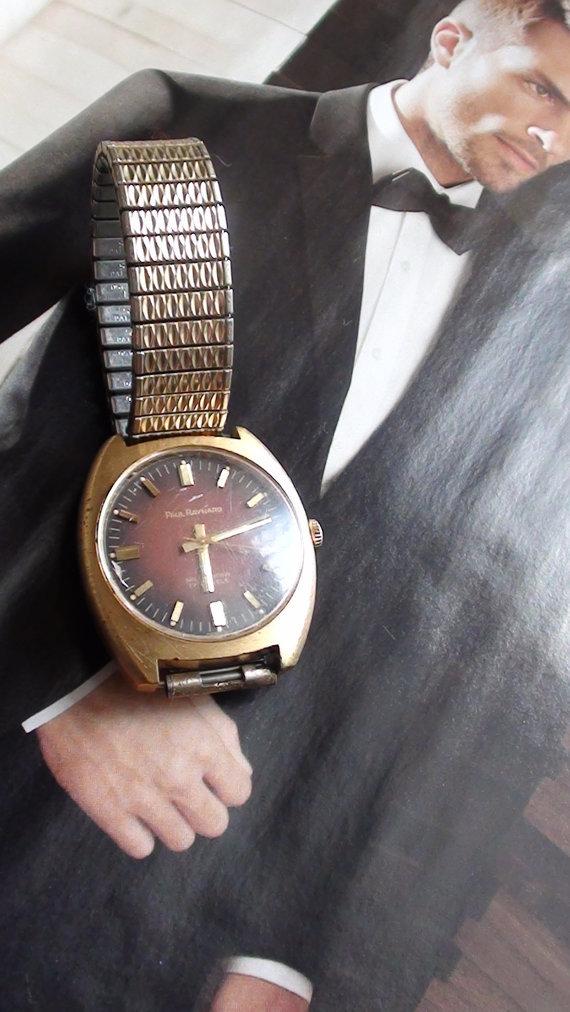Paul Raynard MEN Wrist Watch Antique Swiss Selfwinding 17 jewels Gold Filled
