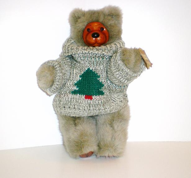 Robert Raikes Bear Cookie gray Applause 1989