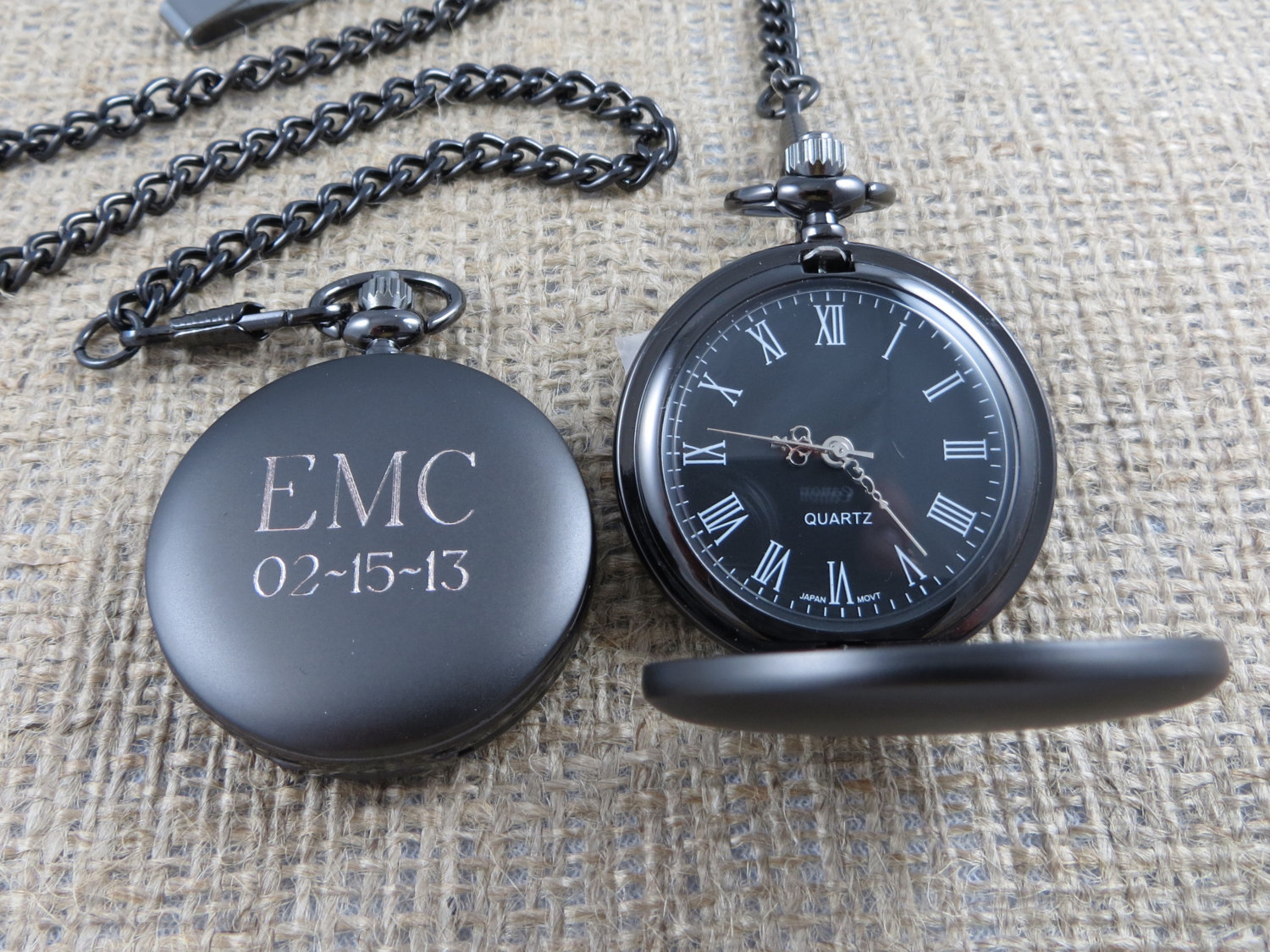 Watch As Wedding Gift: Personalized Pocket Watch