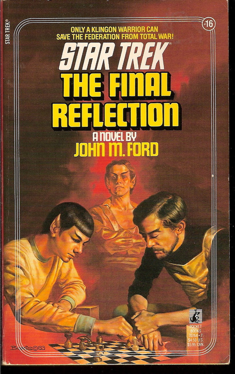 Final Reflection Star Trek TOS 16 by John M.Ford PB 1990