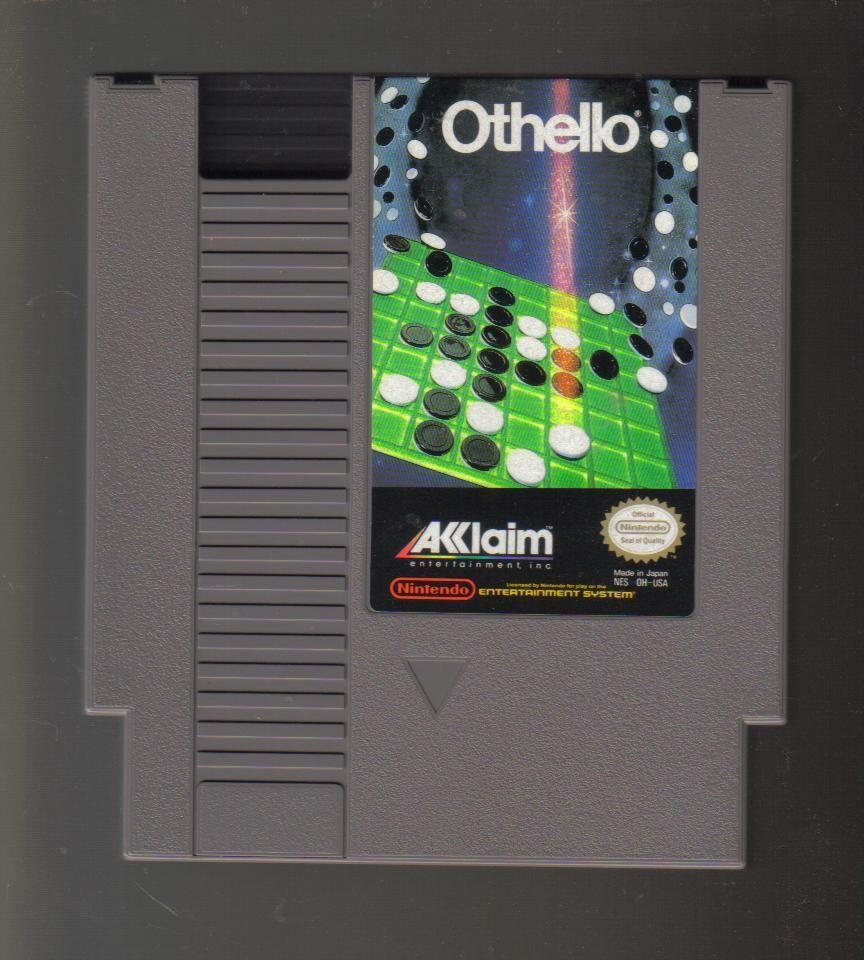Nintendo NES Game Othello