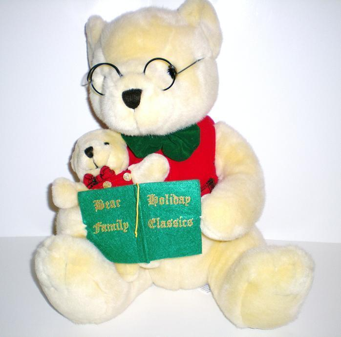 Image 0 of Kids Preferred Plush Holiday Family, Grandpa and Baby, 2000