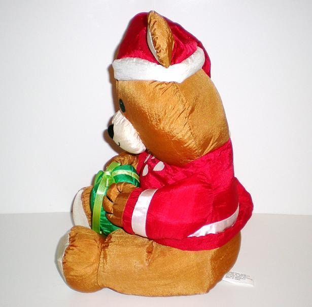 Image 1 of Santa Country Bear 1992 Fingerhut Holiday Teddy Bear