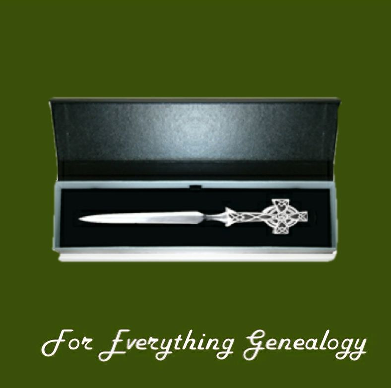 Celtic Cross Trinity Knotwork Gift Boxed Stylish Pewter Letter Opener