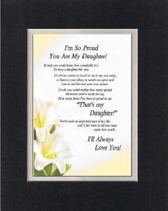 Heartfelt Poem for Daughters – I'm So Proud You Are My ...